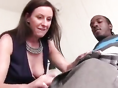 Shocked With The Size of Black Cock